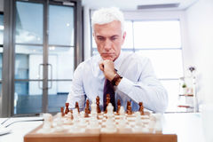 Thinking the next move Stock Photos