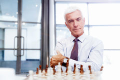 Thinking the next move Stock Photography