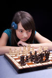 Thinking of the next move. Stock Photos