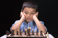 Thinking on the next move. Stock Images
