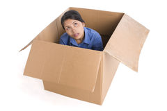 Thinking out of box Royalty Free Stock Photos
