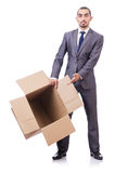 Thinking out of box. Concept Stock Image