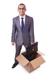 Thinking out of box Royalty Free Stock Photography