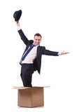 Thinking out of box. Concept Royalty Free Stock Photos