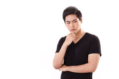 Thinking, planning man Royalty Free Stock Photography