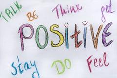 Thinking Positive Stock Photos