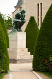 The thinking in Rodin museum in Paris Stock Photography