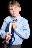 Thinking School boy student Stock Photos