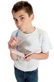 Thinking Student Royalty Free Stock Photo