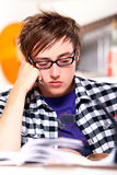 Thinking Student Stock Image