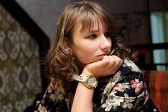 Thinking teen Stock Photography