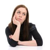 Thinking Woman Stock Photo