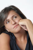 Thinking Woman Stock Images