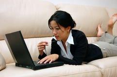 Thinking woman Stock Photography