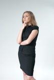 Thinking woman - Business Stock Photo