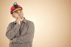 Thinking Worker Stock Photos