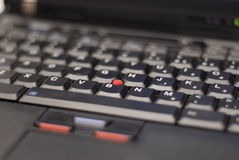 Thinkpad keyboard Stock Images