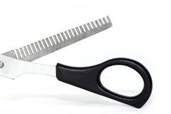 Thinning scissor close-up Stock Photography