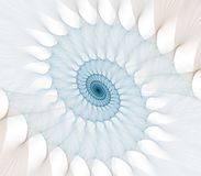 Thinning Spiral Abstract Royalty Free Stock Image