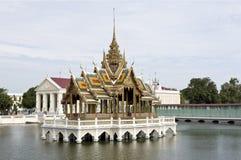 Thiphya-arte di Phra Thinang Aisawan immagine stock libera da diritti