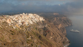 Thira from Firostefani Stock Image