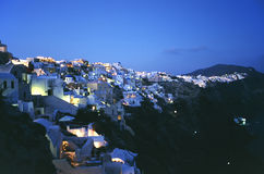 Thira Santorini Royalty Free Stock Photography