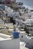 Thira Santorini imagens de stock