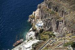 Thira Santorini foto de stock royalty free