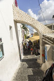Thira Santorini Стоковое Изображение