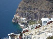 Thira Santorini Стоковые Фото
