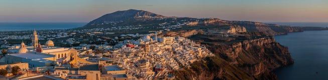 Thira, Santorini Imagens de Stock Royalty Free