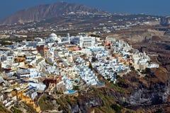Thira, Santorini, Greece stock photo