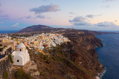Thira, Santorini, Greece. Stock Photo