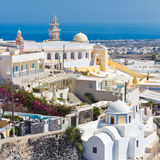 Thira, Santorini, Greece. Stock Images