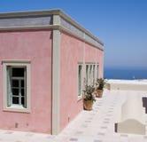 Thira, Santorini, Griechenland Lizenzfreies Stockbild