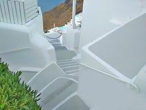 Thira, Thera, isola di Santorini, Grecia fotografia stock libera da diritti