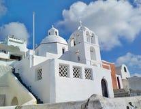 Thira, Thera, isola di Santorini, Grecia immagine stock libera da diritti