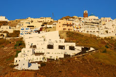 Thira village, Santorini Stock Photo
