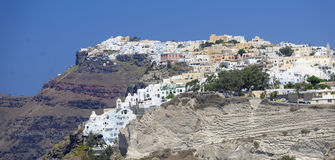 Thira village Stock Photography