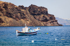Thirasia Island Santorini Greece Europe Royalty Free Stock Photography
