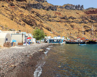 Thirasia Island Santorini Greece Europe Royalty Free Stock Photos