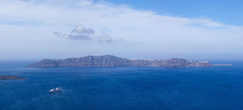 Thirassia island Stock Image