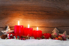 Third advent Royalty Free Stock Photo