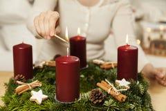 Third Advent stock photo