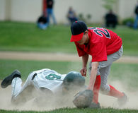 Third base Stock Photo