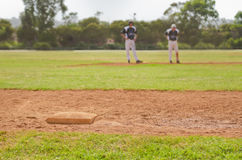 Third base Stock Photos