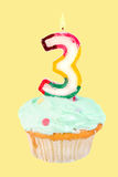 Third birthday Royalty Free Stock Image