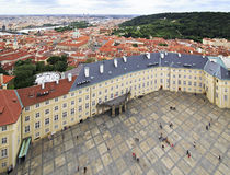 Third courtyard of Prague Castle Royalty Free Stock Photo