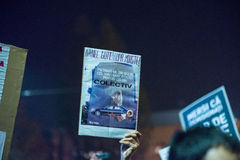Third day of protest against coruption and Romanian Government Royalty Free Stock Photos