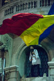Third day of protest against coruption and Romanian Government Royalty Free Stock Image